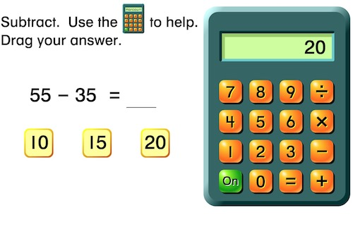 Calculator (addition and subtraction)