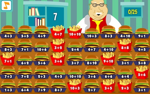Mr. Chomper and Fast Food Math