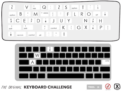 The Original Keyboard Challenge