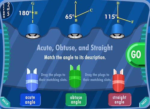 Identifying Angles