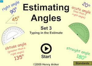 Estimating Angles - Set 3