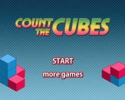 connt the cubes