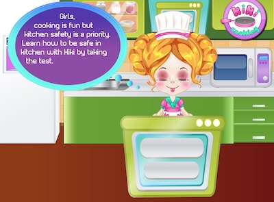 Learn Kitchen Safety with Kiki