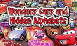 wonder cars and hidden alphabet
