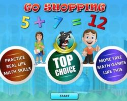 go shopping math