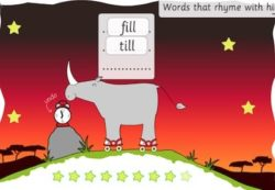 rhyme words hoill version