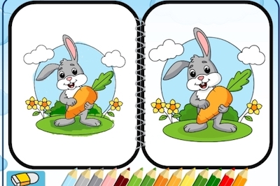 Easter Coloring (Drawing)