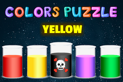 Color Puzzle (Learn Color Name)