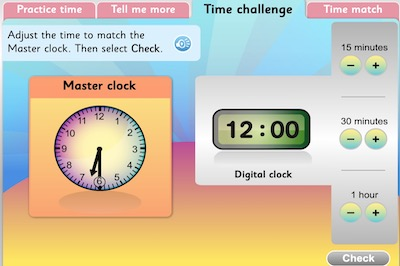 Time Tools: Teach and Learn Time